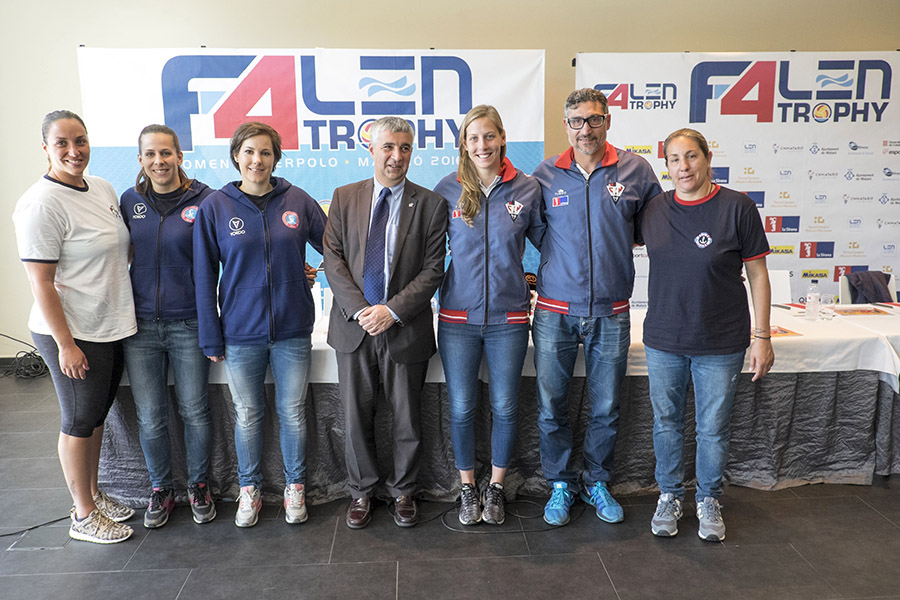 Four Teams Seeking To Raise The LEN Trophy In Mataró