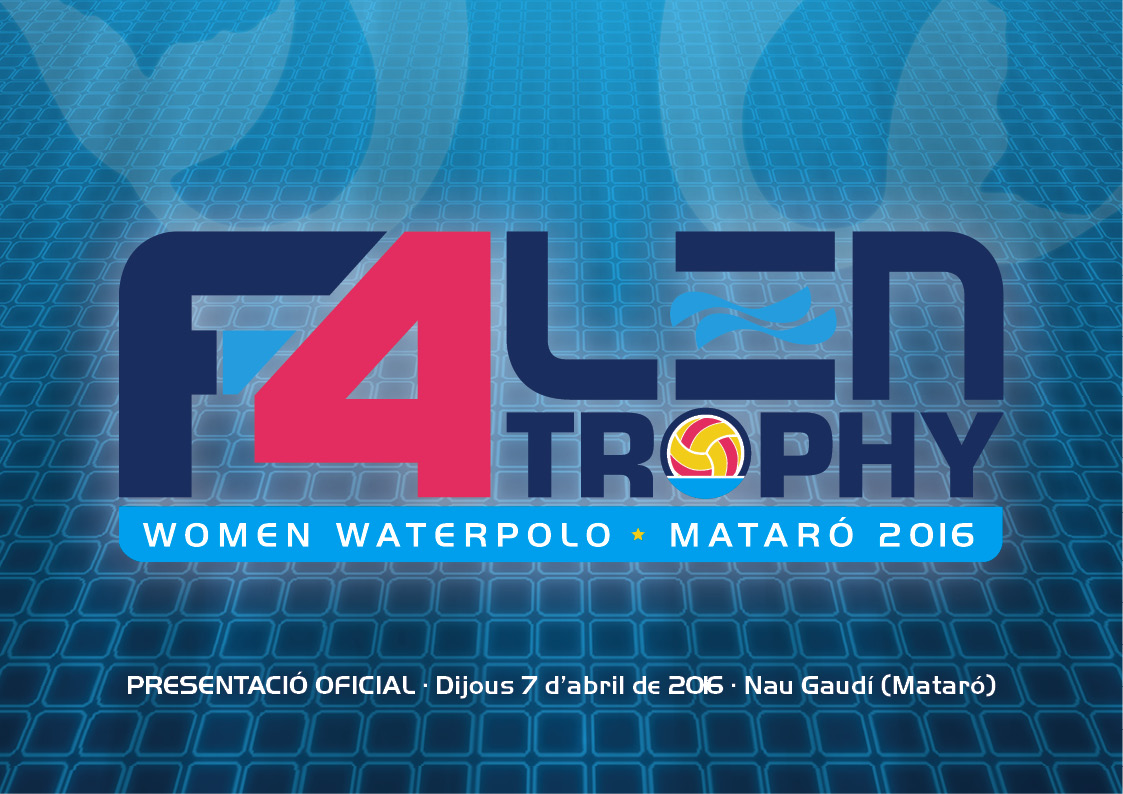 Presentation Of The F-4 LEN Trophy – Mataró 2016
